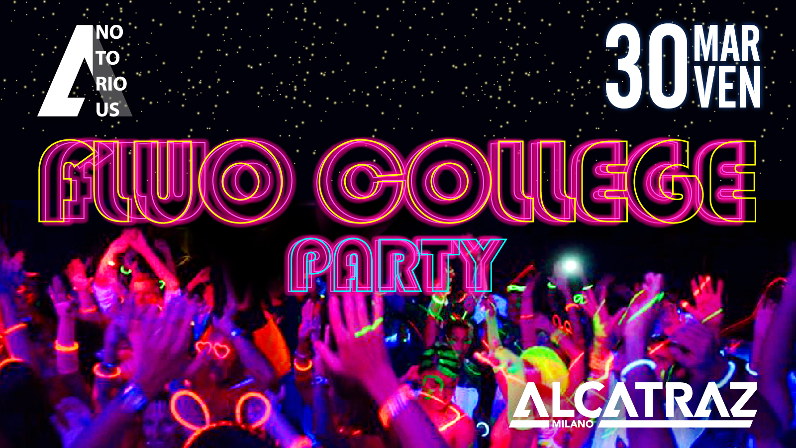 fluo college evento