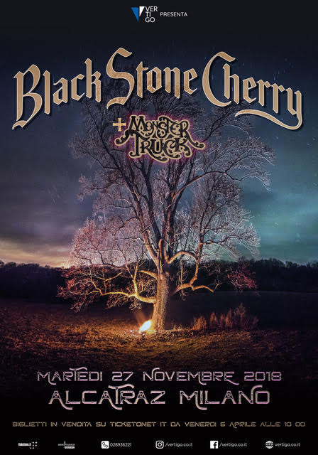 new arrival 4608d 736df BLACK STONE CHERRY - Alcatraz