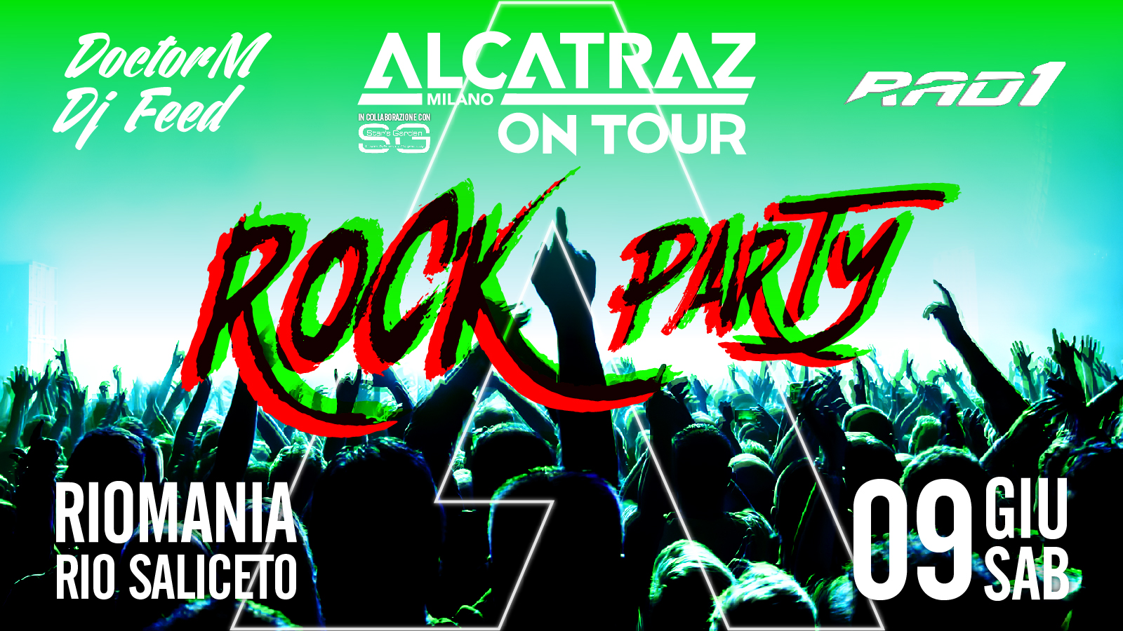 rock party evento